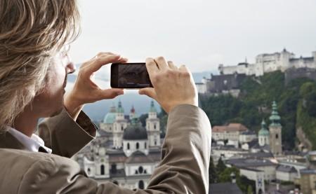 Im Kulturtourismus werden innovative Technologien zur Kulturvermittlung immer wichtiger. © Salzburg Research/C-Stummer Photography