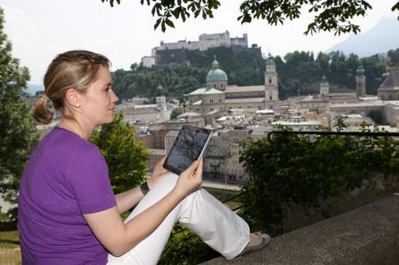 Weltkulturerbe digital entdecken. © Salzburg Research/Wild & Team