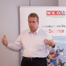 Alexander Körner (IBM München) erklärt die Watson IoT Plattform