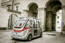 Erster selbstfahrender Minibus in Salzburg