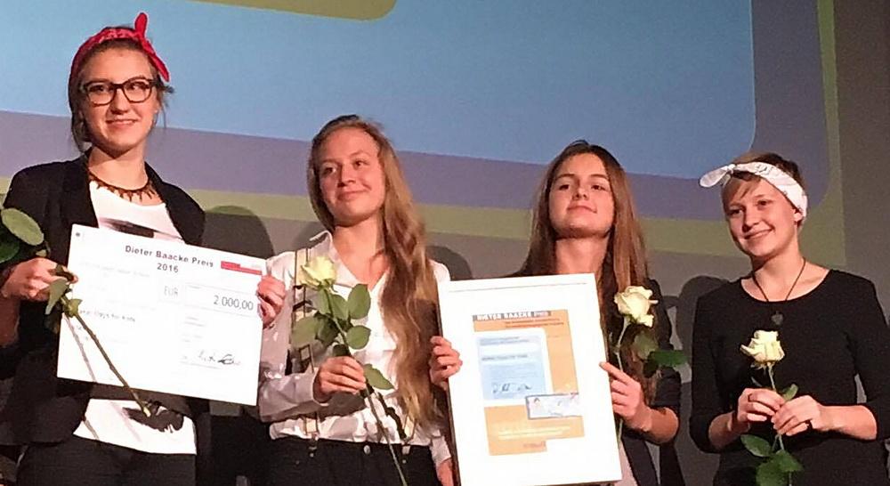 Dieter Baacke Preisträger 2016: Peertutorinnen
