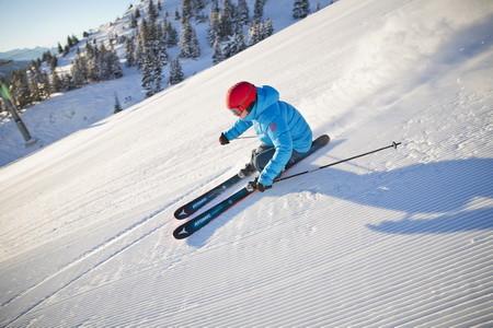 Atomic Skifahrer