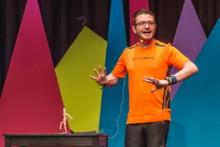 Wolfgang Kremser, Gewinner des Science Slam Salzburg