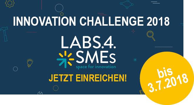 Innovation Challenge 2018 - jetzt einreichen