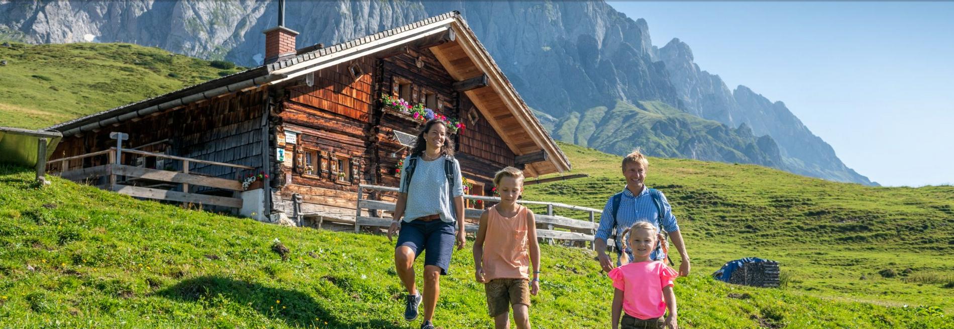 Kinderleicht Wandern (c) SalzburgerLand Tourismus