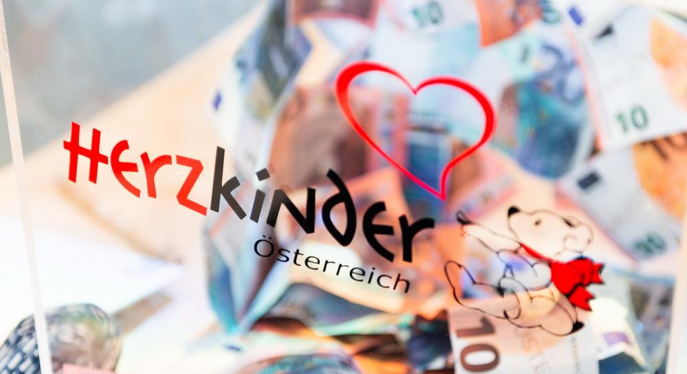 Spende für Herzkinder Österreich