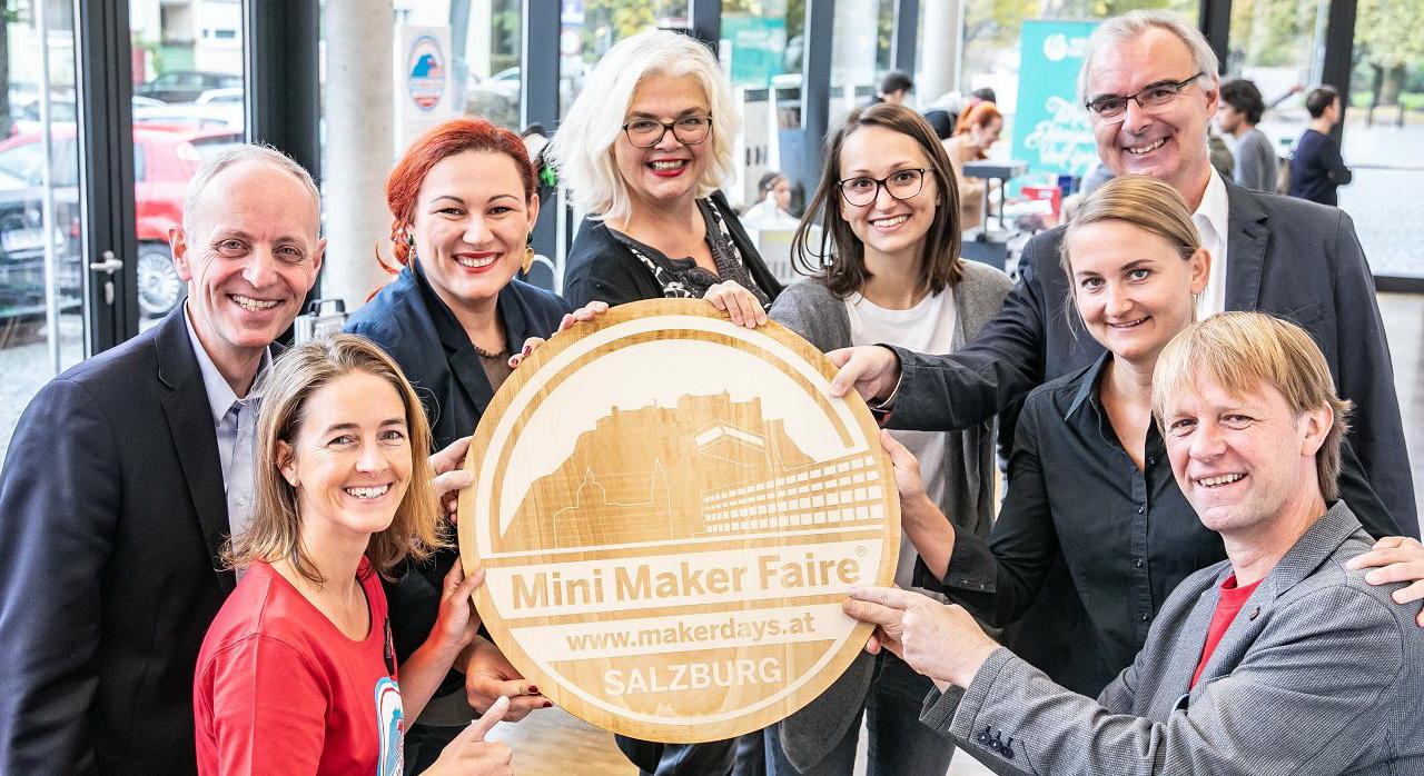 Mini Maker Faire Salzburg 2019