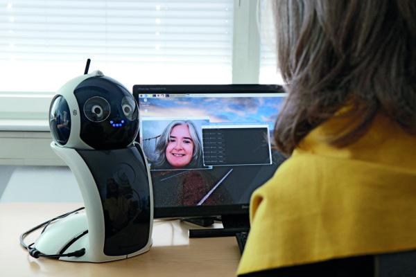 Sozialer Roboter im Einsatz