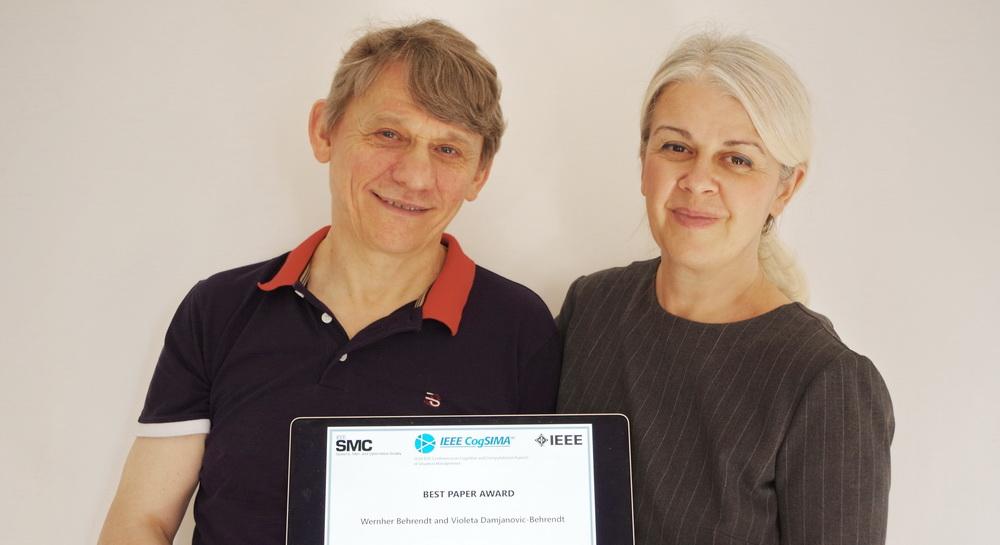 Best Paper Award Wernher Behrendt, Violeta Damjanovic-Behrendt